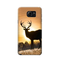 P1938 Deer Buck In Sunset Phone Case For Samsung Galaxy S6 edge plus