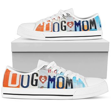 Dog Mom Low Top Shoes