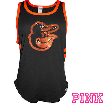 Baltimore Orioles Victoria's Secret PINK® Pieced Bro Tank - MLB.com Shop