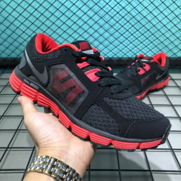 auguu Nike Dual Fusion ST Msl 2018 Breatheable Running Shoes Black Red