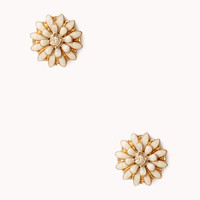 Garden Floral Lacquered Studs