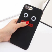 Lovely Cartoon Clown Case For iphone 7 Case Hard Coque Back Cover Slim Fashion Phone Cases For iphone 7 6 6s PLus Coque HOT -03129
