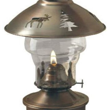Lamplight® 50840 Montana Indoor Oil Lamp, Antique Bronze Finish