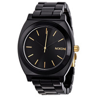 Nixon Time Teller Black Dial Black Acetate Mens Watch A3271031