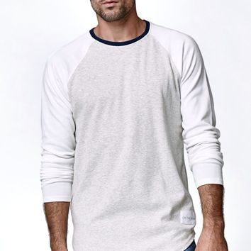 On The Byas Carson Ribbed Raglan Crew Shirt - Mens Shirt