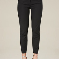 PIPED EDGE CROP TROUSERS