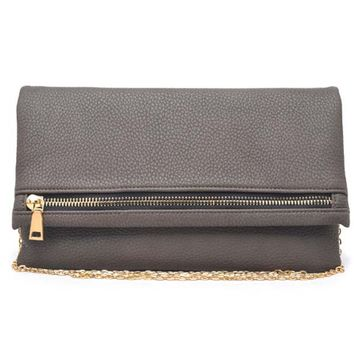 Urban Expressions Mallory Taupe Clutch