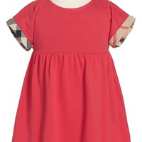 Toddler Girl's Burberry Short Sleeve Dress,