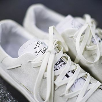 """adidas Y-3 Super Knot Superstar Running shoes """"Gray&White""""AC7406"""
