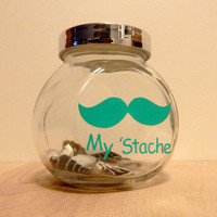 My 'Stache Mustache Jar