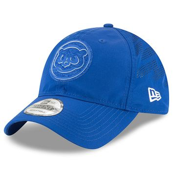 Men's Chicago Cubs New Era Royal 2018 Clubhouse Collection Classic 9TWENTY Adjustable Hat