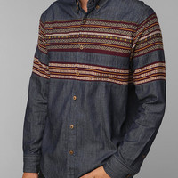 Staple Coober Denim Button-Down Shirt