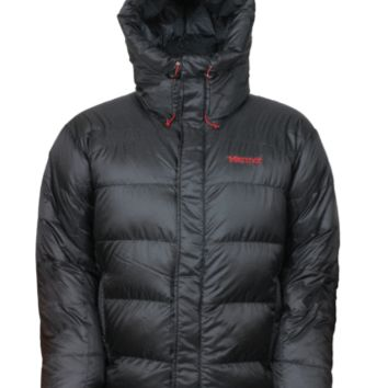 Marmot Mens Down Jacket Greenland Baffeled Black