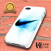 Nike Logo Blue Fire for iphone, ipod, samsung galaxy, HTC and Nexus PHONE CASE