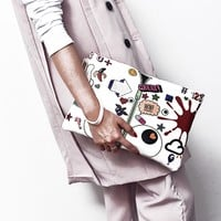 2017 Famous Brand Bag Women Day Clutches High Quality Pu Leather Bags Envelope Women Clutch Bag Female With Shoulder Strap Black