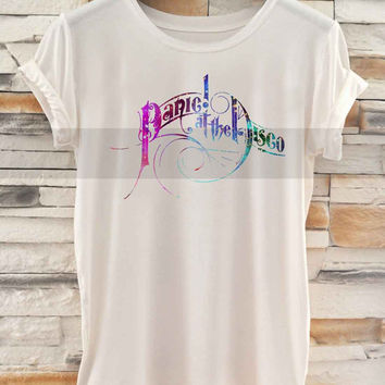 panic at the disco galaxy logo _ Tshirt  And Tank Top Men And Women Design By : PATUNGAN
