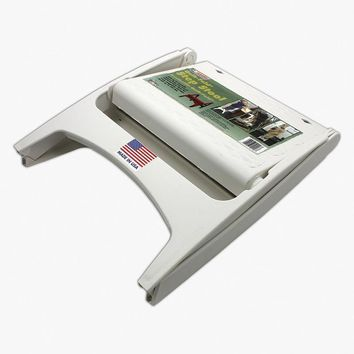 QUIK FOLD STEP STOOL WHITE