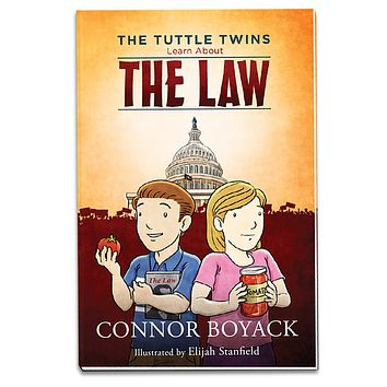The Tuttle Twins Learn About The Law Paperback Book