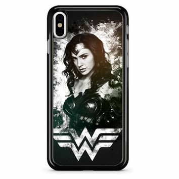 Wonder Woman Comic iPhone X Case