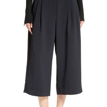 Tibi Double Waist Crop Pants | Nordstrom