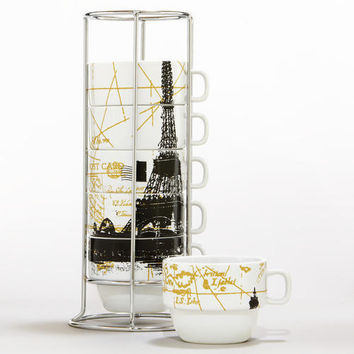 Eiffel Tower Stacking Mugs | World Market