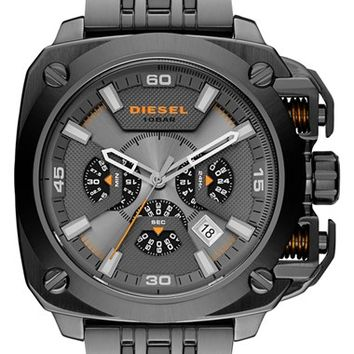Men's DIESEL 'BAMF' Chronograph Bracelet Watch, 58mm