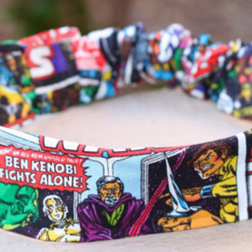 Star Wars Comic Book Headband  by ElegantlyGeek on Etsy