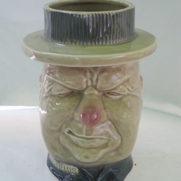 WC Fields McCoy Pottery Ceramic Planter Cookie Jar