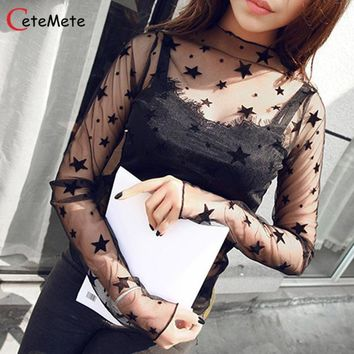 Summer Women Top Pure Lace Sexy harajuku T-shirt Female Party Tops Girl Tees Girl Power Vogue King Queen Shirt