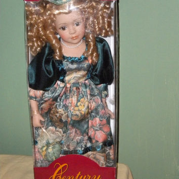 Century Genuine Porcelain Doll New in Box