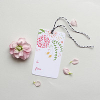 Wildflowers Gift Tags