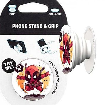 Deadpool Phone Stand & Grip
