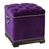 Stool Cube Dean Martin | Dressing Tables & Stools | Bedroom | Modern Contemporary Furniture