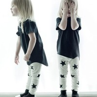 Clothes Online | STAR LEGGINGS GREY || NUNUNU - NEW ARRIVALS - BAZAAR
