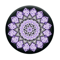Peace Mandala Purple - Universal Pop Up Phone Holder Expanding Stand Grip Mount Socket For Phone or Tablet