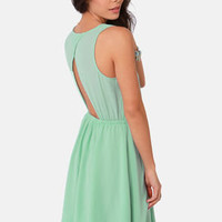 Simmer Down Mint Green Dress