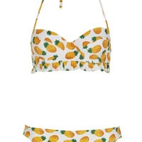 White Pineapple Bikini - New In This Week - New In - Topshop