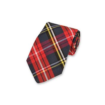 Fletcher Plaid Necktie by High Cotton