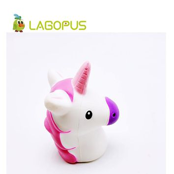 lagopus Squishy Unicorn Toys for Children Squeeze Slow Rising Cartoon Kids Toys Squishys  Anti stress Lovely Animal