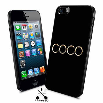 coco gold chanel iPhone 4s iphone 5 from inno-fact.com | cases