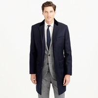 J.Crew Mens Ludlow Chesterfield Topcoat In Italian Wool