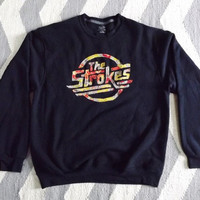 Custom The Strokes Crewneck Sweatshirt