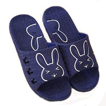 Slippers for Women Womens Bathroom Shower Cartoon Cute Cat Slippers S158