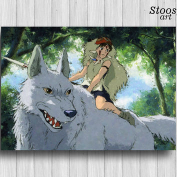 princess mononoke poster anime prints