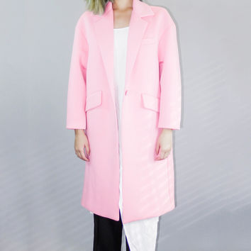 Oversized Lightweight Trench Coat by Queens'