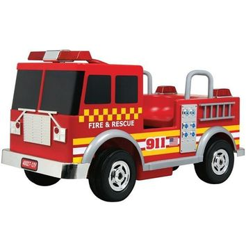 Big Toys USA Fire Truck 12v Red