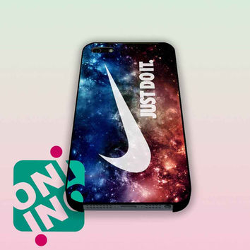 Galaxy Nebula Just Do It Nike Space iPhone Case Cover | iPhone 4s | iPhone 5s | iPhone 5c | iPhone 6 | iPhone 6 Plus | Samsung Galaxy S3 | Samsung Galaxy S4 | Samsung Galaxy S5