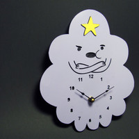 Lumpy the Space Princess Clock