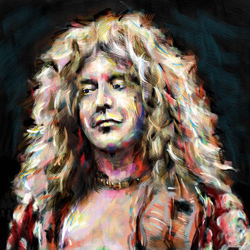 Led Zeppelin Art - Robert Plant
