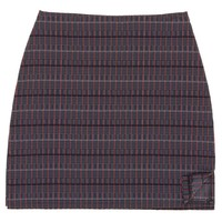 Internet Girl Meta Tweed Skirt - Black